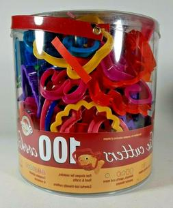 Wilton 100 Cookie Cutters Set Holiday Alphabet Numbers - 200