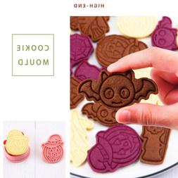 6pcs/set Halloween Cookie Cutters Mold Bakery Mold Cake Tool