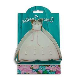 Gown Cookie and Fondant Cutter - Ann Clark - 4.8 Inches - US