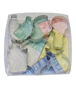 R&M International 1812 Baby Shower and Party Cookie Cutters,