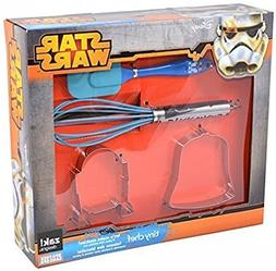 Zak Designs Star Wars Cookie Cutters, Spatula and Whisk 4-pc