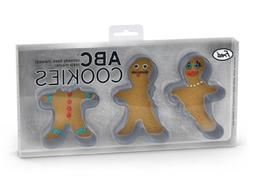 Abc Gingerbread Cookie Cutters
