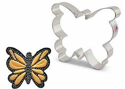 Ann Clark Cookie Cutters Large Butterfly Moth Cookie Cutter,