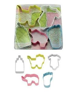 Baby Cookie Cutter Set Baby Shower Home Baking Tools Kitchen