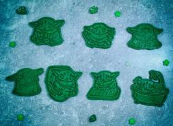 Baby Yoda Mandalorian cookie cutter. Cutters and Stamps . St