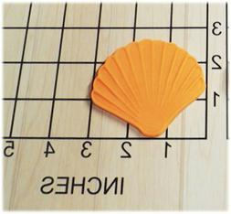 Beach Sea Shell Shaped Fondant Cookie Cutter and Stamp #1144