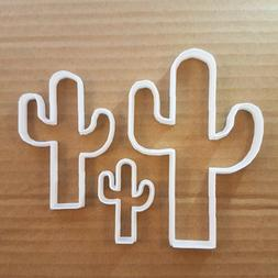 Cactus Cookie Cutter Desert Plant Dough Pastry Biscuit Cacti
