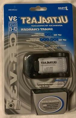 Ultralast Charger CV-3V With Wall Adapter NEW in BOX