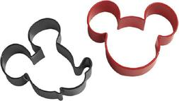 Cookie Cutter Set Mickey Mouse Coated Metal Cutters Cut Baki