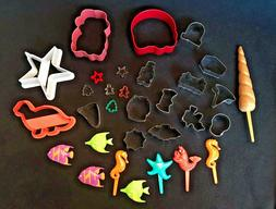 Cookie Cutters...All Shapes...All Sizes! Some tiny! Beach Aq
