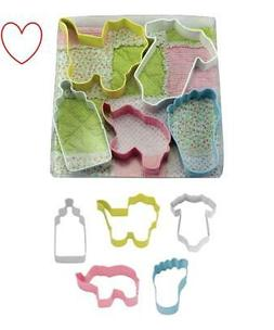 Cookie Cutters Baby Set Baby Shower Home Baking Tools Kitche