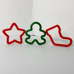 Unbranded Cookie Cutters Large Comfort Grip Stocking Snowman
