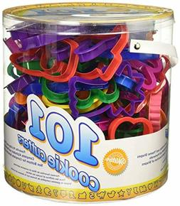 Wilton Cookie Cutters Set, 101-Piece — Alphabet, Numbers a