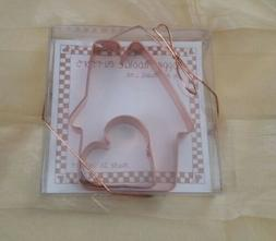 Copper Cookie Cutters NIB Home is where the heart is 2 Vermo