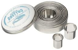 Ateco Cutters, Plain Round, 11-Piece Set in Sizes from 3/4 t