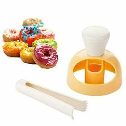 Donut Cake Mould with Dipping plier, DIY Donut Mold Cake Dec