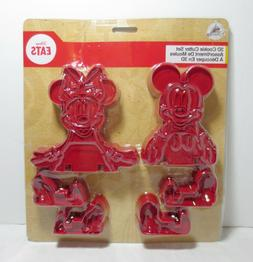 Disney Eats - Mickey Mouse / Minnie Mouse - 3D Cookie Cutter