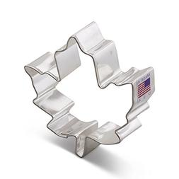 Ann Clark Maple Leaf Cookie Cutter - 3 Inches - Tin Plated S