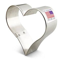 Ann Clark Heart Cookie Cutter - 3 Inches - Tin Plated Steel