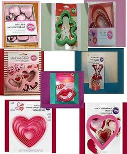 heart cookie cutters comfort grip sets nesting