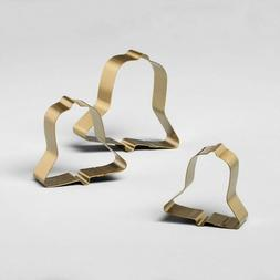 Hearth and Hand with Magnolia Cookie Cutter Set Bells Gold N