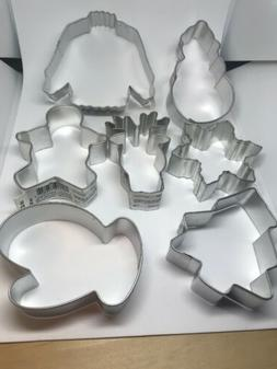 Holiday Metal Cookie Cutters - Choose your own! star snowman