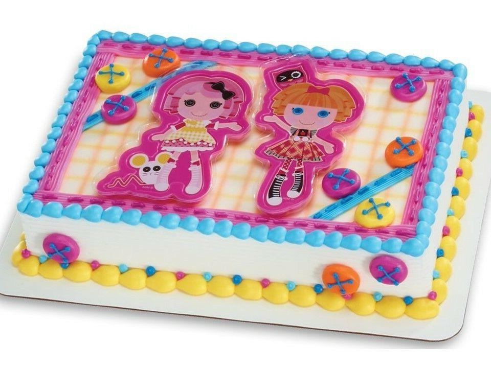 lalaloopsy cake topper kit party decoration sew