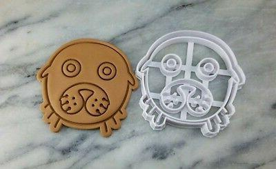 seal face cookie cutter 2 piece outline