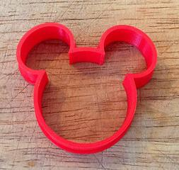Mickey Mouse Head cookie and fondant cutter - US SELLER!!