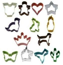 Mini Cookie Cutters Shape Kitchen Home Baking Biscuits