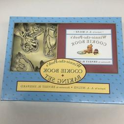 NEW 1996 Winnie the Pooh's Cookie Book Baking Set 4 Cutters