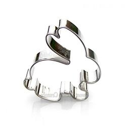 Mini Rabbit Cookie Cutter- Stainless Steel