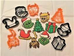 The Grinch Cookie Cutters