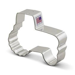 Ann Clark Tractor Cookie Cutter - 4.25 Inches - Tin Plated S