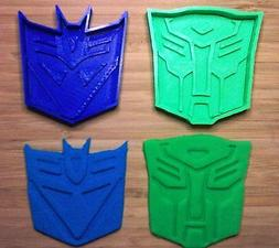 Transformers Cookie Cutters - Autobot, Decepticon - Choice o