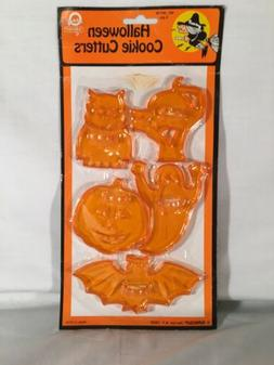 VTG 80s NEW NOS AMSCAN Plastic Halloween Cookie Cutters Owl