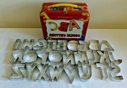 Williams Sonoma  Alphabet Cookie Cutters Complete Lunch Box