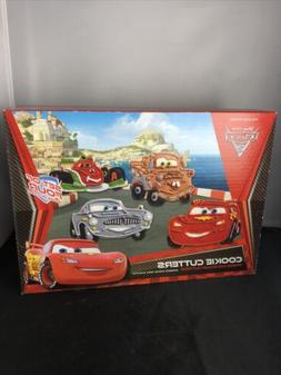 WILLIAMS SONOMA DISNEY PIXAR CARS 2 COOKIE CUTTERS PRESS AND